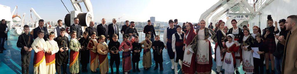 Στο πλοίο της ΑΝΕΚ και φέτος η εκδήλωση Πανελλήνιας Ομοσπονδίας Κρητικών Σωματείων
