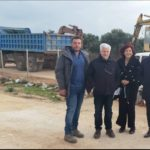 Έργο της ΔΕΥΑΧ στο Χορδάκι Ακρωτηρίου επιθεώρησε ο δήμαρχος Χανίων