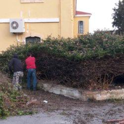 Καθαρισμός σημαντικών σημείων της πόλης, από συνεργεία του δήμου Χανίων