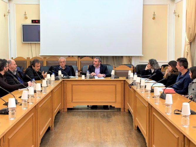 Σύσκεψη επιτροπής διαβούλευσης Περιφέρειας Κρήτης για τη Νέα ΚΑΠ 2021-2027