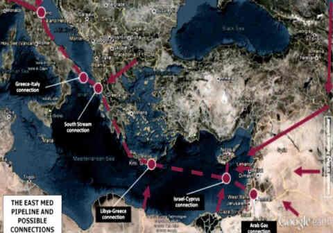 Πολλά τα οφέλη της Κρήτης από την διέλευση του East Med