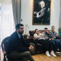Ξενάγηση μαθητών του ΕΠΑΛ Βρυσσών στο Δημαρχείο Χανίων
