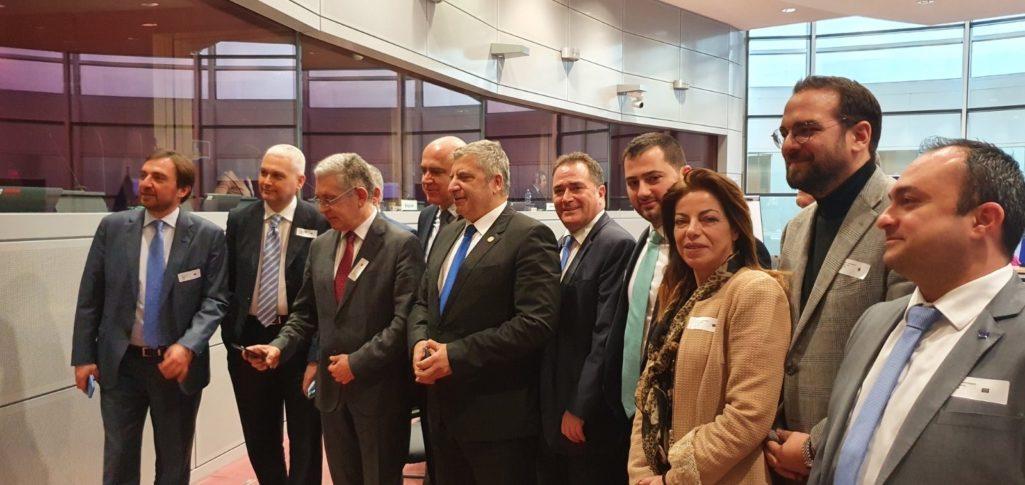 Συμμετοχή της Περιφέρειας Κρήτης σε ενημερωτική αποστολή στις υπηρεσίες της Κομισιόν στις Βρυξέλλες