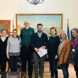 """Συνάντηση του Δημάρχου Χανίων με μέλη και εθελοντές του """"Ορίζοντα"""""""