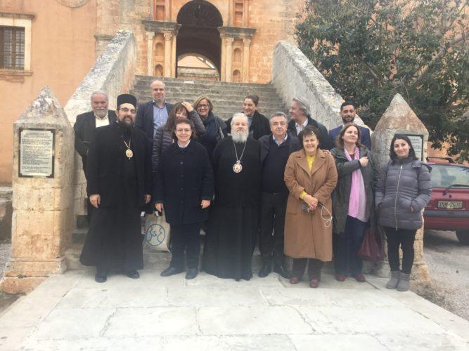 Περιφέρεια Κρήτης και Υπουργείο Πολιτισμού δίνουν λύση στην κτιριακή αποκατάσταση της Αγ. Τριάδας