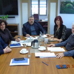 Ο προγραμματισμός των έργων της ΔΕΥΑΧ στην συνάντηση με τον αντιπεριφερειάρχη Χανίων