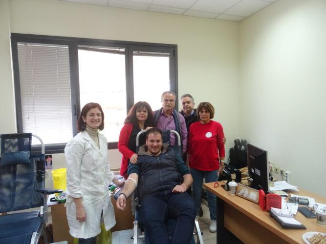 Επιτυχημένη η εθελοντική αιμοδοσία στον Πλατανιά