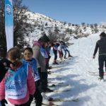 Μαθήματα χιονοδρομίας (σκι) για παιδιά, το Σαββατοκύριακο στον Ομαλό