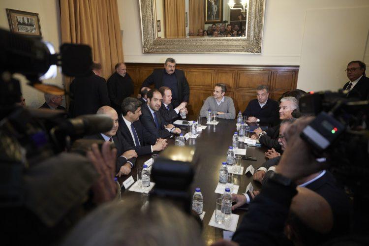 Κυριάκος Μητσοτάκης από τα Χανιά: «Η Κρήτη θα αποκτήσει επιτέλους τις υποδομές που της αξίζουν»