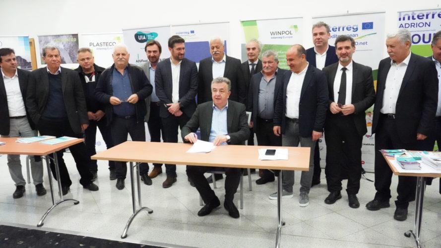 Μνημόνιο συνεργασίας Περιφέρειας, Δήμων, Ξενοδόχων Κρήτης για τη βιώσιμη διαχείριση των παραλιών
