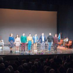 """Παρουσία πλήθους κόσμου η πρεμιέρα της παράστασης """"Γιοι και κόρες"""" του ΔΗΠΕΘΕΚ στο Βενιζέλειο Ωδείο"""