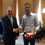 Ο πρόεδρος των Ιστορικών Καφέ, στον δήμαρχο Αθηναίων