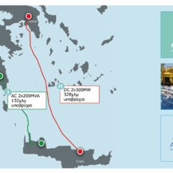 ΑΔΜΗΕ: Το καλοκαίρι η πόντιση υποβρυχίου καλωδίου μεταξύ Πελοποννήσου – Χανίων