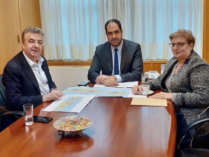 Η ατζέντα των θεμάτων της Κρήτης στη συνάντηση του Περιφερειάρχη με τον Υφυπουργό Υποδομών