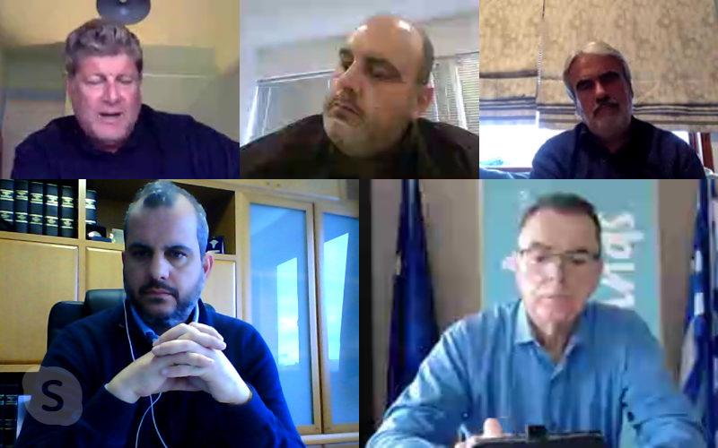 ΕΒΕΧ: Τηλεδιάσκεψη του Α.Ροκάκη με τον Διευθυντή της Ν.Δ. και επαγγελματικούς φορείς για την επόμενη μέρα του COVID-19
