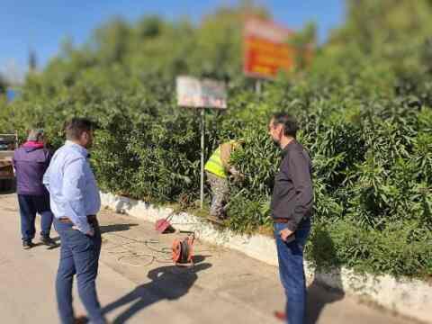 Με αδιάκοπο ρυθμό συνεχίζονται οι εργασίες από τα συνεργεία του Δήμου