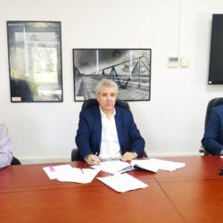 Συμβάσεις 2,9 εκ. ευρώ υπέγραψαν Ο.Α.Κ. και Δήμος Αποκορώνου