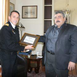 Αποχαιρετιστήρια επίσκεψη του απερχόμενου διοικητή του ΚΕΝΑΠ στον αντιπεριφερειάρχη Χανίων