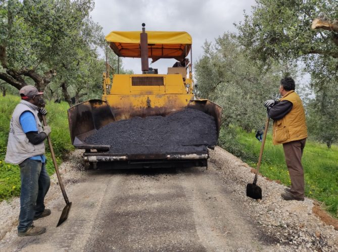 Τρία νέα έργα οδοποιίας, ύψους 1,1 εκατ. ευρώ, δημοπρατήθηκαν στον Πλατανιά