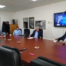 «Συμφώνησαν» για στενότερη συνεργασία Ο.Α.Κ και Δήμος Χανίων – Προτεραιότητα ο δρόμος των Μουρνιών
