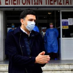 Κικίλιας: Μετά τις 27 Απριλίου οι ανακοινώσεις για την αποκλιμάκωση των μέτρων