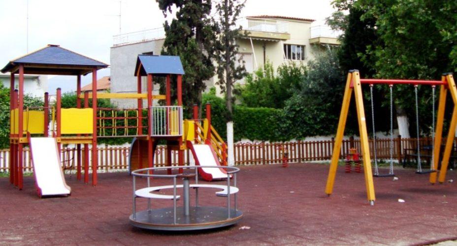 Χρηματοδότηση για την κατασκευή επιπλέον τεσσάρων παιδότοπων στον δήμο Πλατανιά