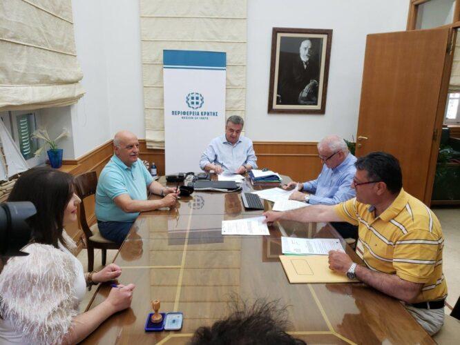 Σύμβαση μεταξύ Περιφέρειας και Ένωσης Καταναλωτών, για την στήριξη ευπαθών οικογενειών δικαιούχων του Ε.Π. ΤΕΒΑ