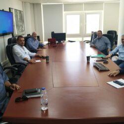 Οι δυνατότητες συνεργασίας στο επίκεντρο της συνάντησης του Δημάρχου Κισσάμου με την Διοίκηση του Ο.Α.Κ.