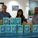 Δήμος Πλατανιά: Δωρεά 150 tablets στις σχολικές μονάδες της περιοχής
