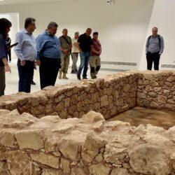 Το νέο Αρχαιολογικό Μουσείο Χανίων επισκέφθηκε ο Σταύρος Αρναουτάκης