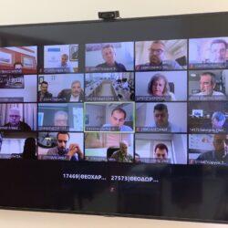Με τηλεδιάσκεψη το Συμβούλιο Τουρισμού των Περιφερειών, με την συμμετοχή του Σταύρου Αρναουτάκη