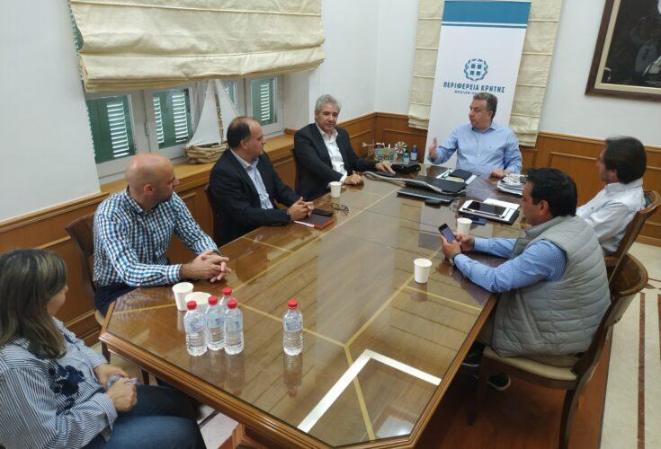 Ισχυροί σύμμαχοι στο έργο του Ο.Α.Κ, η Περιφέρεια και η Π.Ε.Δ. Κρήτης