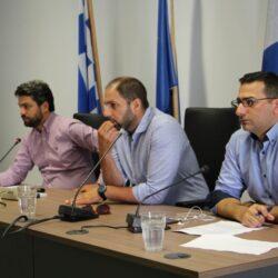 Συναντήθηκαν με τον δήμαρχο οι πρόεδροι των τοπικών κοινοτήτων του Δήμου Χανίων