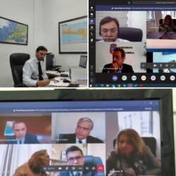 Η Περιφέρεια Κρήτης σε πολιτική συζήτηση για το σχέδιο ανάκαμψης της Ευρώπης
