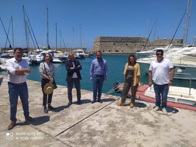 Συνάντηση του Αντιπεριφερειάρχη Πολιτισμού με τους Αντιδημάρχους Πολιτισμού των πρωτευουσών της Κρήτης