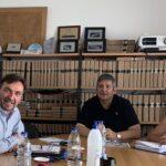 """Η υλοποίηση του προγράμματος """"Ναύς"""", σε συνάντηση στο Λιμενικό Ταμείο Χανίων"""