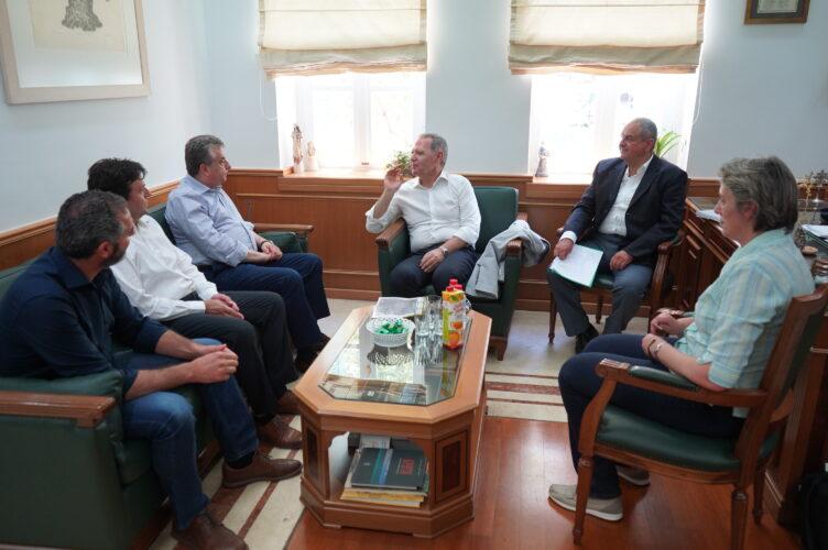 Μνημόνιο συνεργασίας μεταξύ της Περιφέρειας Κρήτης και του ΕΛΓΟ Δήμητρα