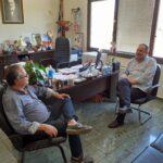 Τον δήμαρχο Πλατανιά επισκέφθηκε ο πρόεδρος της ΠΕΔ Κρήτης
