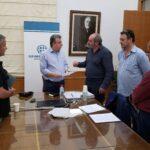 Συνάντηση του Περιφερειάρχη με την διοίκηση του Σωματείου Οδηγών Τουριστικών Λεωφορείων «ΕΡΜΗΣ»