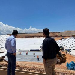 Επίσκεψη του Π.Σημανδηράκη στο τόπο κατασκευής του νέου ΧΥΤΥ της ΔΕΔΙΣΑ