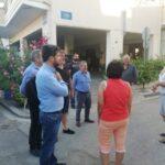 Με κατοίκους των Παχιανών συναντήθηκε ο Παναγιώτης Σημανδηράκης