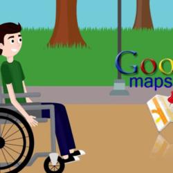Οι Google Maps θα επισημαίνουν τις τοποθεσίες που είναι προσβάσιμες από άτομα με αναπηρία