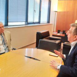 Στ. Αρναουτάκης: «Χρειάζεται η στήριξη του ΕΛΓΑ. Περιμένουμε θετικά αποτελέσματα»