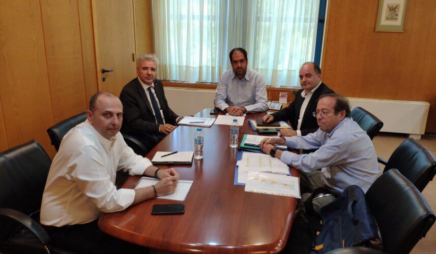 Οι νέες αρμοδιότητες του Ο.Α.Κ, στο επίκεντρο των επαφών Παπαδογιάννη στο Υπουργείο Υποδομών