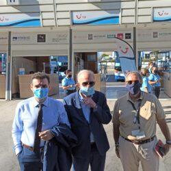 Η Περιφέρεια Κρήτης στην πρώτη επίσημη υποδοχή αεροσκάφους στο Ηράκλειο