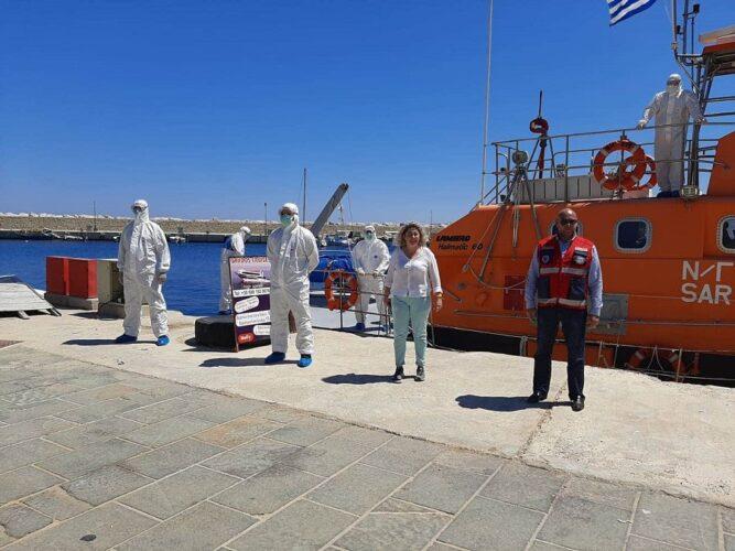 Με επιτυχία η άσκηση της 7ης ΥΠΕ Κρήτης στην Γαύδο