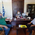 Συνάντηση στην Αποκεντρωμένη Διοίκηση για την Σχολή Μαθητείας Χανίων του ΟΑΕΔ