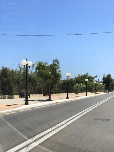 Εργασίες αναβάθμισης πρασίνου και αστικού εξοπλισμού του Δήμου Πλατανιά