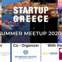 Περιφέρεια Κρήτης: On line πανελλήνια συνάντηση συνδιοργανωτών του Startup Greece Week