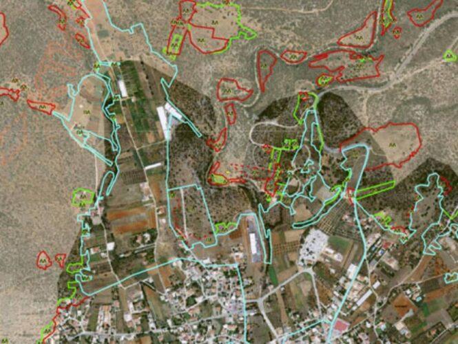 Παράταση της προθεσμίας αναμόρφωσης των δασικών χαρτών και στην Κρήτη